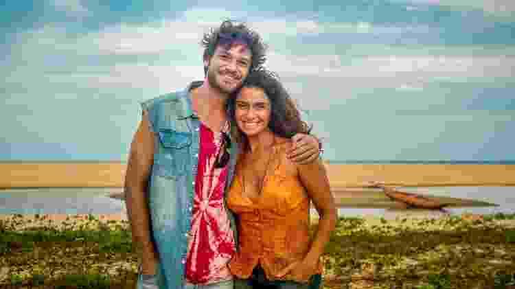 "Luiza (Giovanna Antonelli) e Beto (Emílio Dantas) formam o casal protagonista de ""Segundo Sol"" - Divulgação/TV Globo - Divulgação/TV Globo"