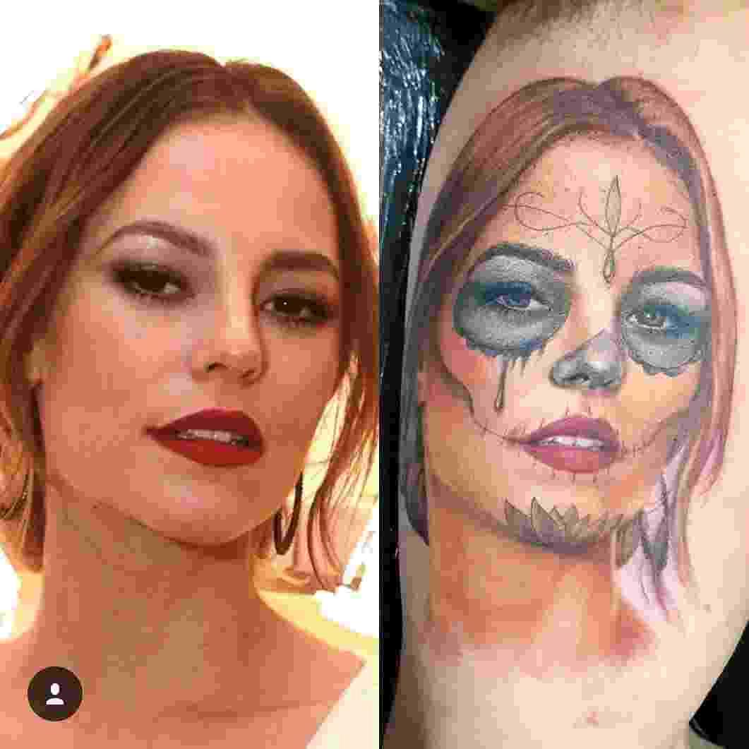 Rodrigo Catuaba ficou conhecido nas redes sociais por tatuar o rosto de famosos - Reprodução/Instagram/rodrigocatuaba