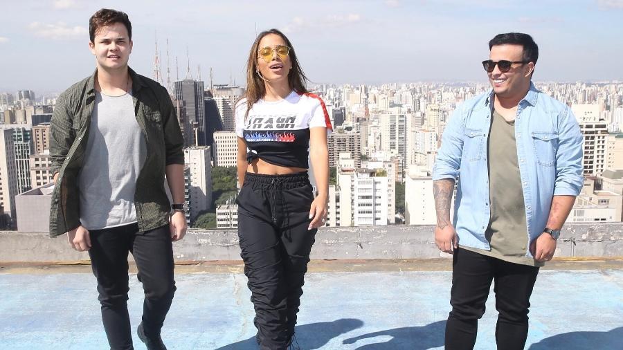 """No topo: Matheus & Kauan e Anitta lançam """"Ao Vivo e a Cores"""" em São Paulo - Manuela Scarpa/Brazil News"""