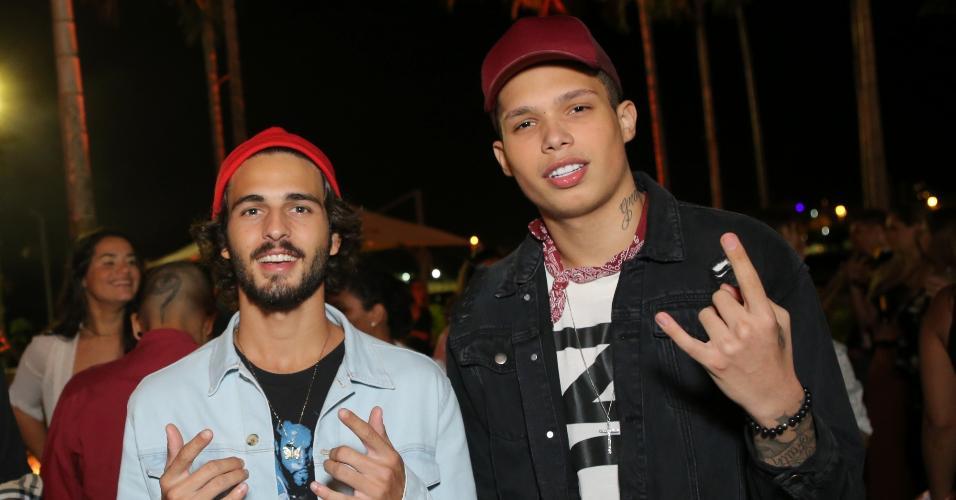 Breno Leone e MC Pablinho, no Rio