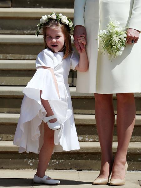 Princesa Charlotte - Jane Barlow/Reuters