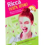 Máscara Facial Detox Total! Limpeza e Renovação Chá Verde, R$ 9,49, Ricca, www.perfumariaseiki.com.br - Divulgação