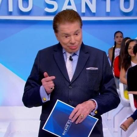 Silvio Santos fala com Mariana Kupfer - Reprodução de vídeo