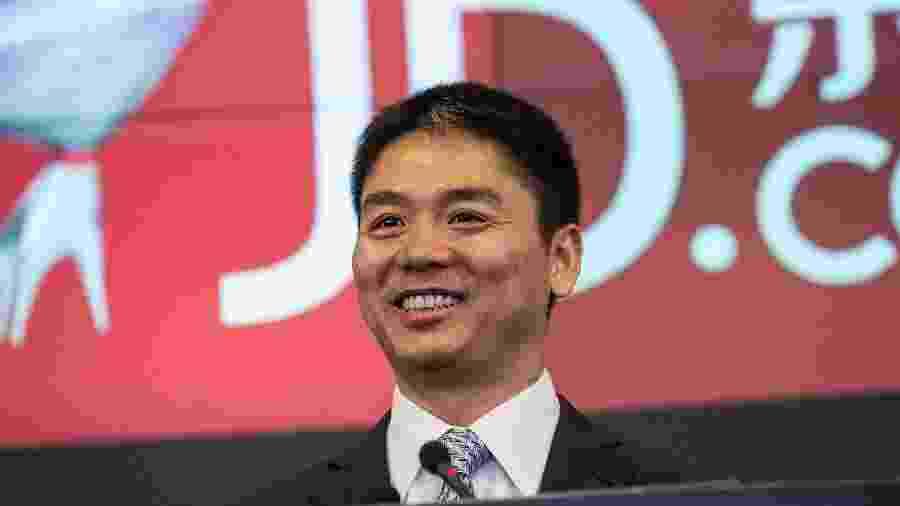 Liu Qiangdong, CEO da JD.com - Getty Images