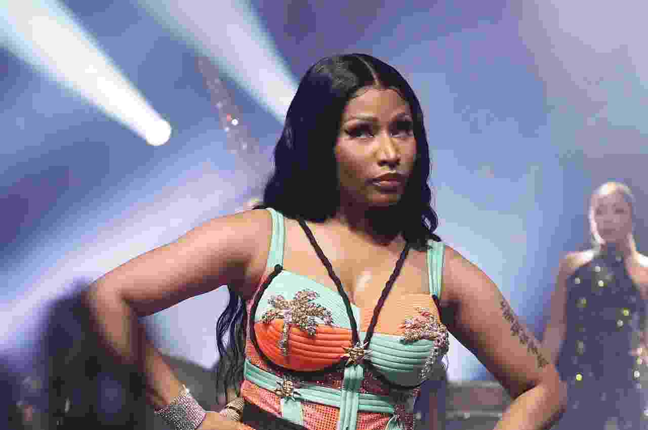 Nicki Minaj fez show em São Paulo na noite dessa quarta-feira (26) - AgNews