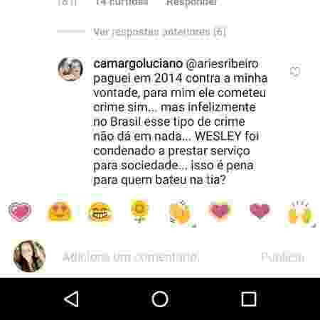 No Instagram, Luciano relembra prisão do filho em 2014 e pagamento de fiança - Reprodução/Instagram - Reprodução/Instagram
