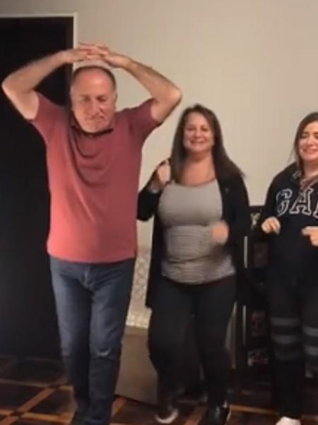 Kaysar e família divertem seguidores ao dançar música de Tirulipa - Reprodução/Instagram