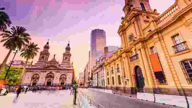 Santiago, no Chile - Getty Images - Getty Images