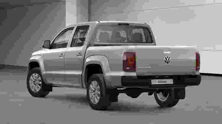 Volkswagen Amarok Comfortline 2 - Divulgação - Divulgação