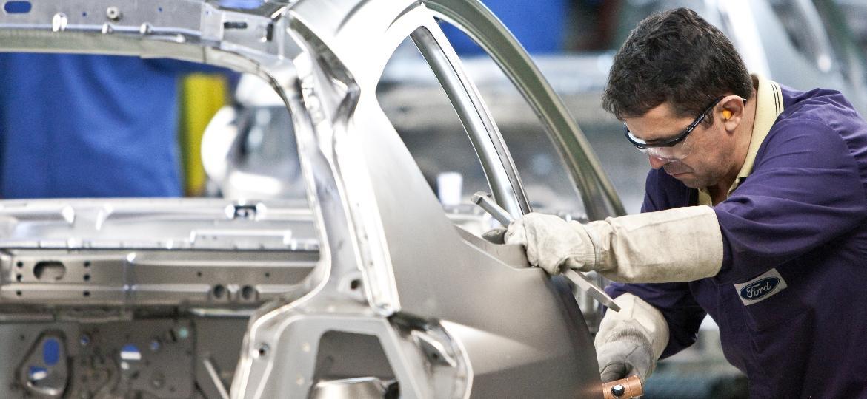 Fábrica da Ford em São Bernardo do Campo (SP) tem 3 mil empregados - Rodrigo Paiva/Folhapress