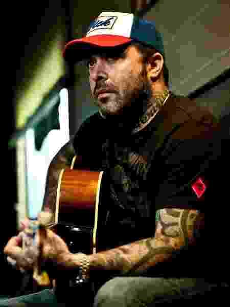 Aaron Lewis, vocalista do Staind - Divulgação