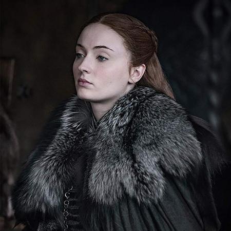 """Sophie Turner como Sansa Stark na última temporada de """"Game of Thrones"""" - Divulgação"""