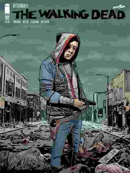 """Capa de """"The Walking Dead"""" #192 - Divulgação - Divulgação"""