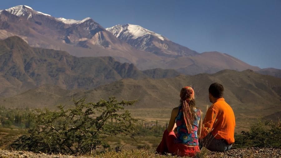 Paisagem em Cachi, na Argentina - Divulgação/Destino Argentina