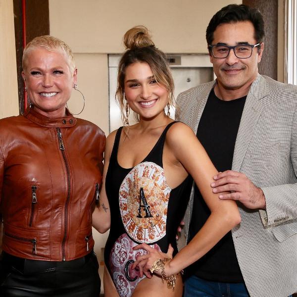 Xuxa, Sasha e Luciano Szafir