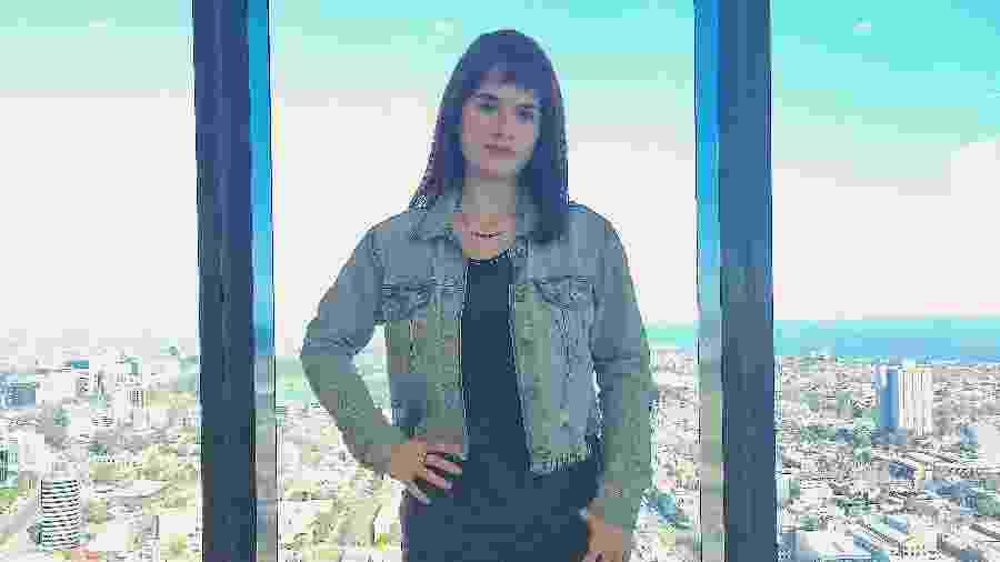 Priscila Bertolucci, 28 anos, foi cobaia humana em Melbourne - Felippe Canale/ Colaboração para o Uol