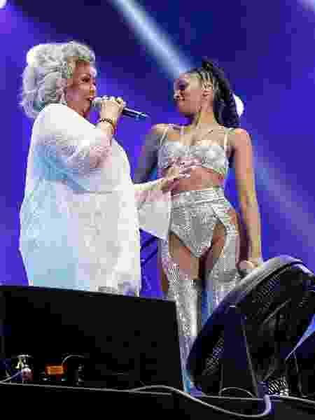 IZA e Alcione já cantaram juntas, no Rock in Rio 2019 - MANU SCARPA/BRAZILNEWS