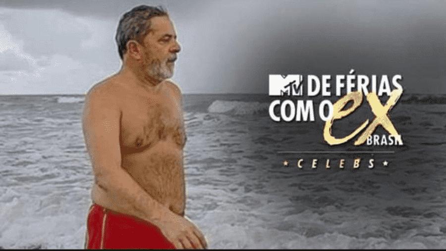 Web imagina Lula no De Férias com o Ex Brasil: Celebs - Reprodução