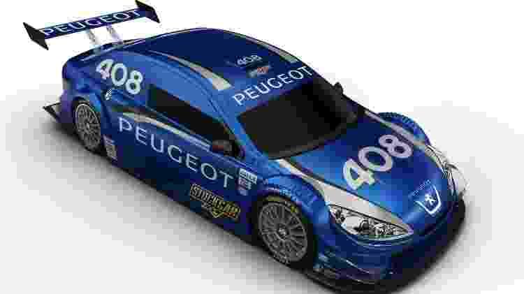 Peugeot na Stock Car - Divulgação - Divulgação