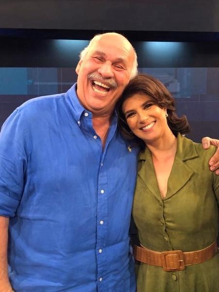 """Márcio Canuto foi convidado para participar do """"Mariana Godoy Entrevista"""" - Divulgação/Rede TV!"""