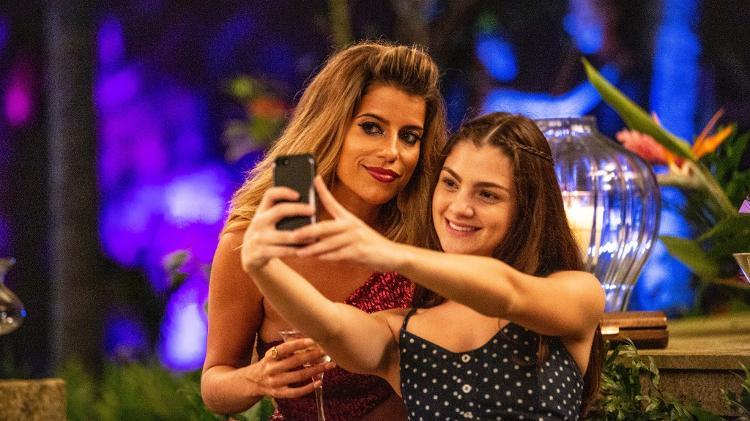 Maria Bopp (Bruna Surfistinha) e Debora Ozório (Alice) em cena da quarta temporada de Me Chama de Bruna - Divulgação/Fox Premium