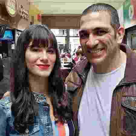 Dani Moreno e Miguel Nader em Amor Sem Igual, novela da Record - Reprodução/Instagram/miguelnaderreal