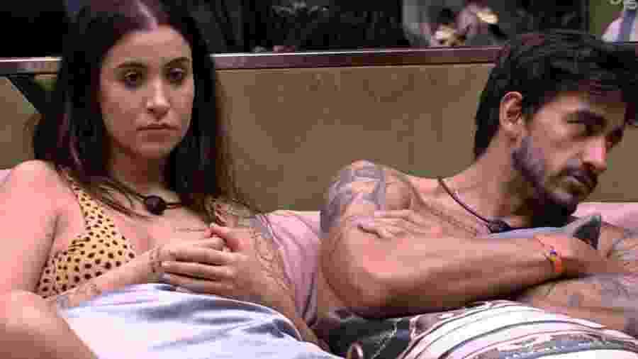 BBB 20: Bianca fala como namorado lida com bebedeira - Reprodução/Globo