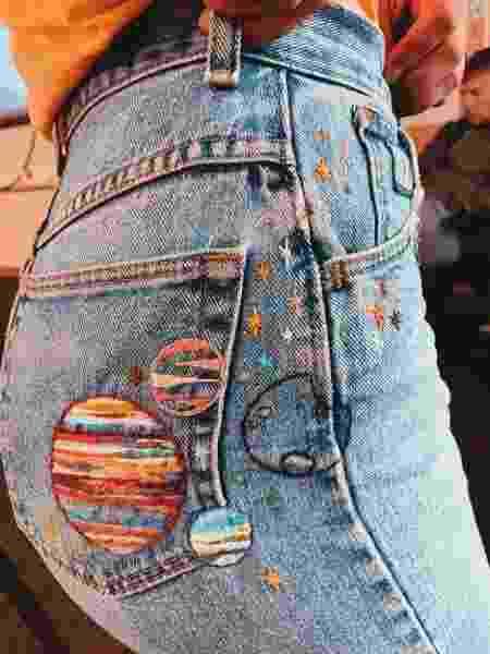 Calça jeans - Reprodução/Twitter - Reprodução/Twitter