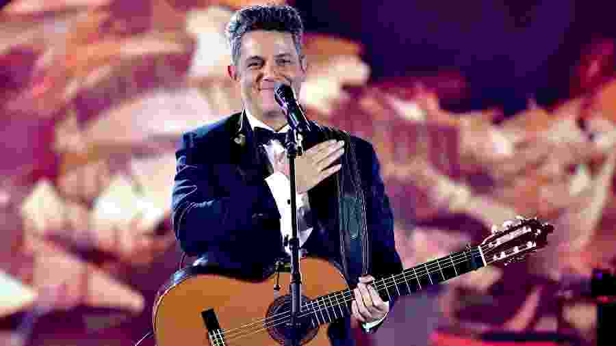 O cantor Alejandro Sanz - Gustavo Caballero/Getty Images