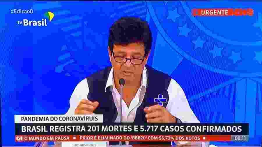 """GloboNews anuncia eliminação de Felipe Prior do """"BBB 20"""" - Reprodução"""