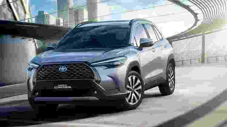 Corolla Cross - Divulgação/Toyota - Divulgação/Toyota