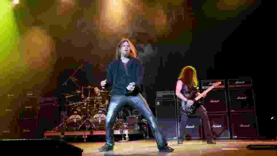 28.set.2019 - Banda Queensrÿche durante apresentação no Texas (EUA) - Gary Miller / Getty Images