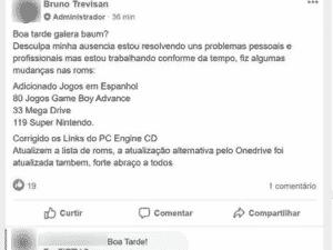 Post Bruno - Reprodução/Facebook - Reprodução/Facebook