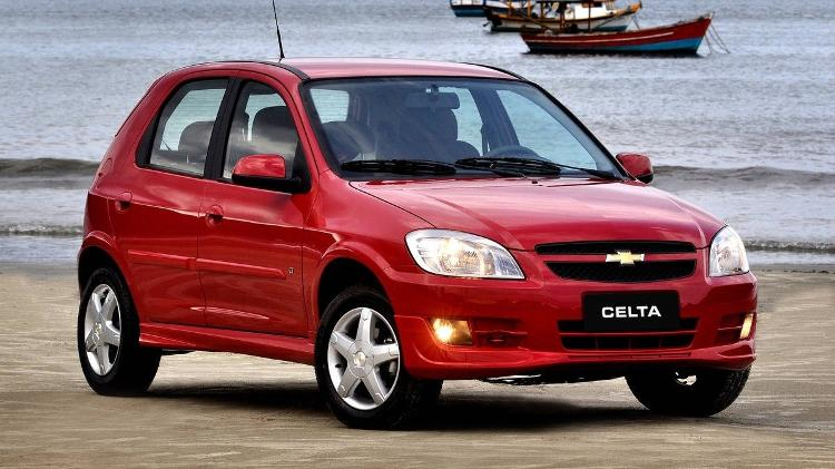 Chevrolet Celta 6 - Divulgação - Divulgação