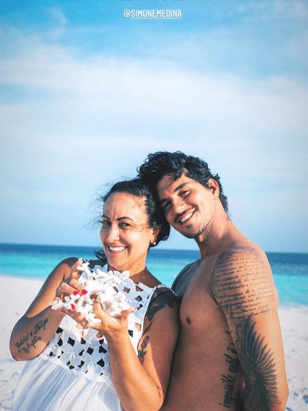 Simone Medina é mãe de Gabriel - Reprodução/Instagram
