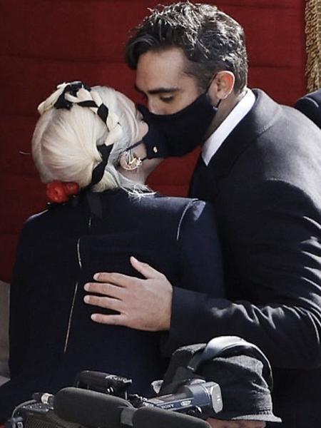 Lady Gaga e Michael Polanski - Reprodução/Instagram