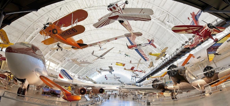 Museus aeronáuticos pelo mundo trazem um rico acervo da tecnologia da aviação aos visitantes - Divulgação/Smithsonian Institution