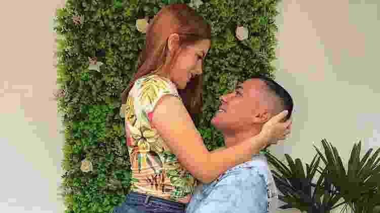 O casal Reverson e Stephanie - Arquivo pessoal - Arquivo pessoal