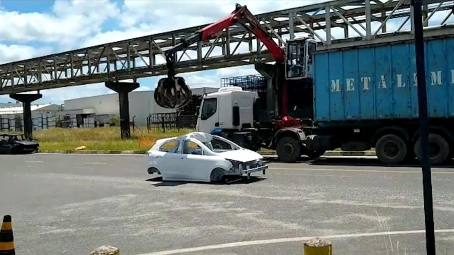 Ford destruiu 900 carrocerias inacabadas de Ka e Eco na Bahia; sem produto, distribuidores exigem dinheiro de fundo milionário - Reprodução