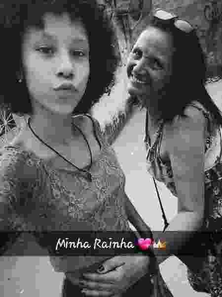 Rosilene Ferreira com a filha Maria Eduarda, morta aos 13 anos em 2017, dentro de sua escola em Acari, no Rio, em ação policial - Arquivo pessoal - Arquivo pessoal