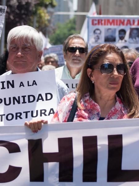 A ativista chilena Haydee Oberreuter, que foi torturada na ditadura de Pinochet, é uma das candidata à eleição da Constituinte no Chile neste sábado (15) - José Domingo Cortinez/Divulgação