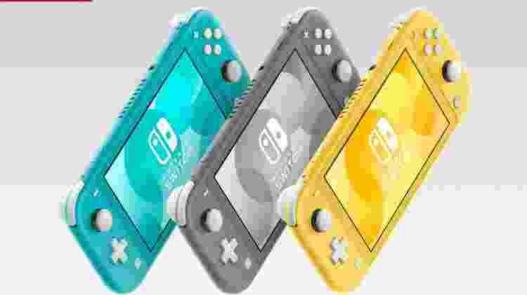 Nintendo Switch Lite - Divulgação/Nintendo - Divulgação/Nintendo