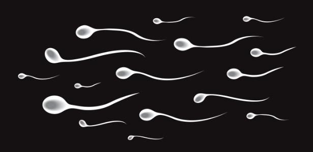 O esperma é grudento para poder se fixar melhor no colo do útero - Getty Images