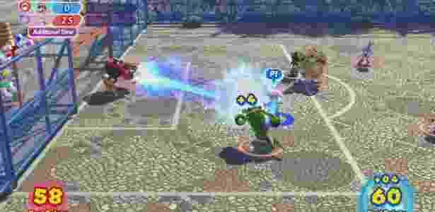 Mario, Sonic e companhia podem disputar partidas de futebol na Cinelândia - Divulgação/Nintendo