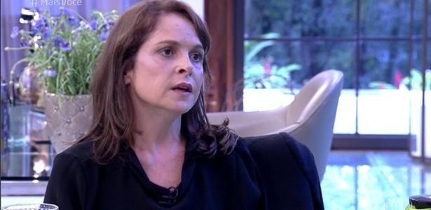 """1.set.16- Drica Moraes participa do """"Mais Você"""" e relembra período em que precisou se afastar de """"Império"""" por problemas de saúde - Reprodução/TV Globo"""
