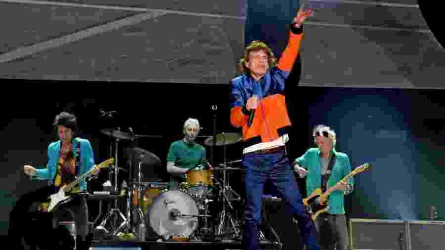Uma coleção de objetos relacionados aos Rolling Stones foi doada à Universidade de Freiburg - Kevin Winter/Getty Images/AFP