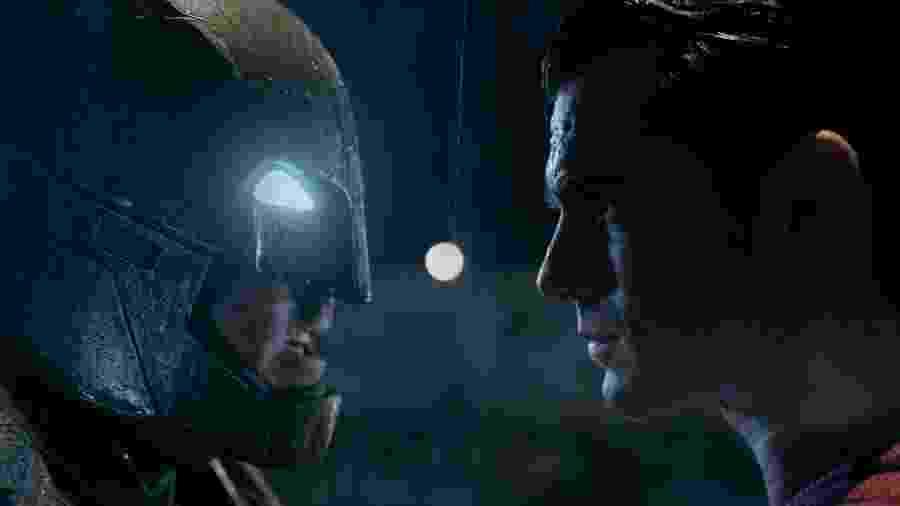 """Cena do filme """"Batman vs Superman: A Origem da Justiça"""" (2016), de Zack Snyder - Reprodução"""