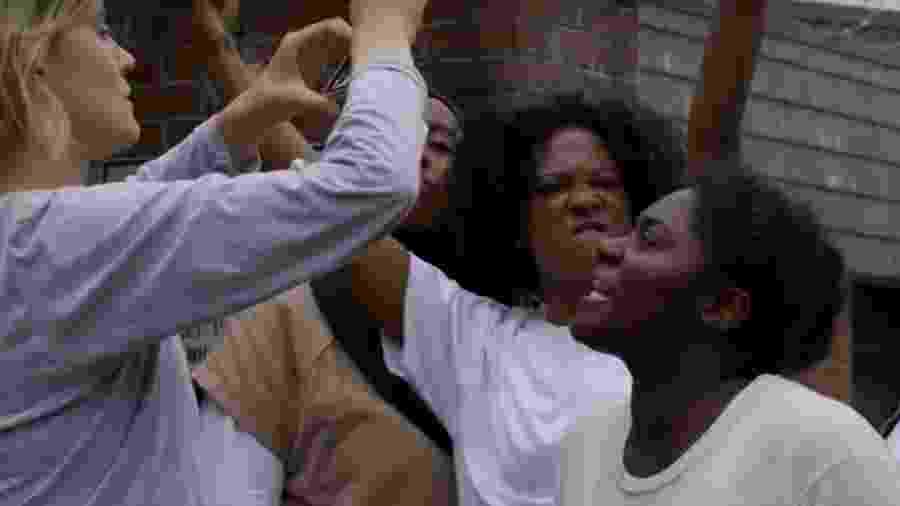 """Taystee reivindica melhores condições na cadeia em cena da quinta temporada de """"Orange is The New Black"""" - Divulgação/Netflix"""