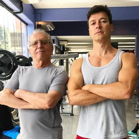 Carlos Alberto de Nóbrega e Rodrigo Faro - Reprodução/Instagram