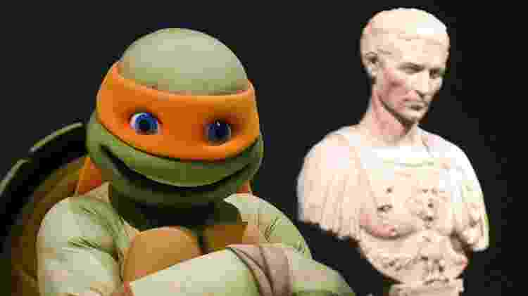 michelangelo - Timothy A. Clary/AFP - Timothy A. Clary/AFP